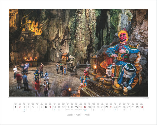 Monat April vom Wandkalender 2017 VIETNAM | Foto: Mario Weigt