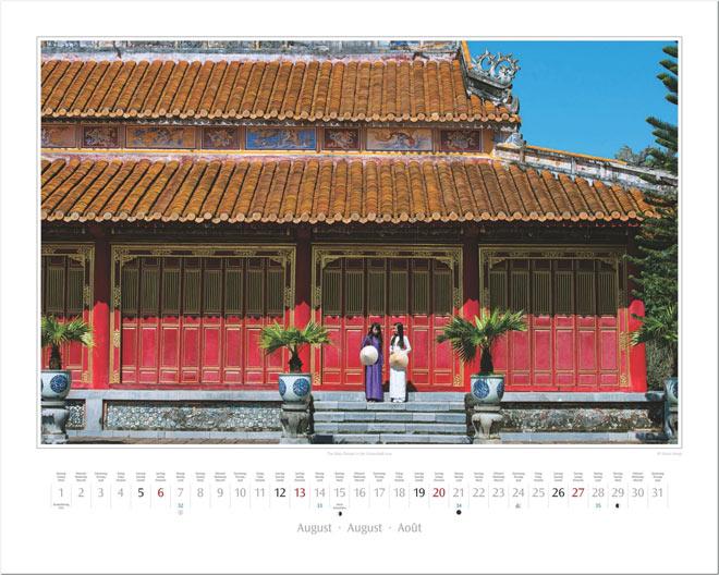 Monat August vom Wandkalender 2017 VIETNAM | Foto: Mario Weigt