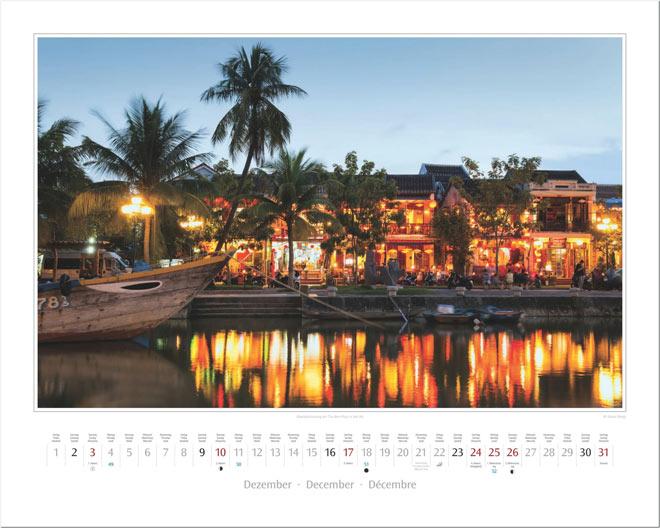 Monat Dezember vom Wandkalender 2017 VIETNAM | Foto: Mario Weigt