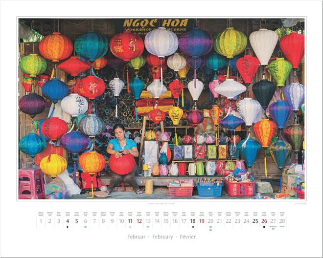 Monat Februar vom Wandkalender 2017 VIETNAM | Foto: Mario Weigt