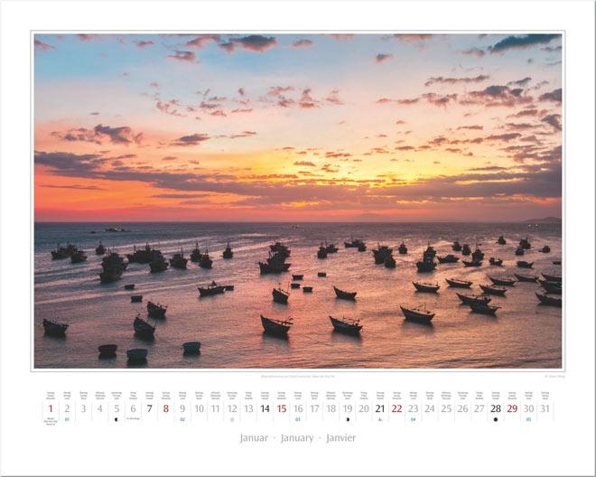 onat Januar vom Wandkalender 2017 VIETNAM | Foto: Mario Weigt