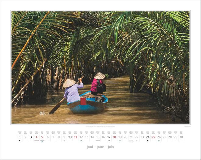 Monat Juni vom Wandkalender 2017 VIETNAM | Foto: Mario Weigt