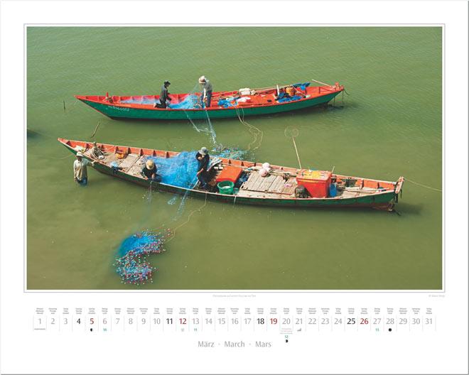 Monat März vom Wandkalender 2017 VIETNAM | Foto: Mario Weigt