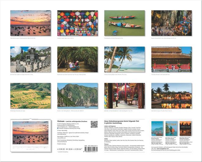 Motivübersicht vom Wandkalender 2017 VIETNAM | Foto: Mario Weigt