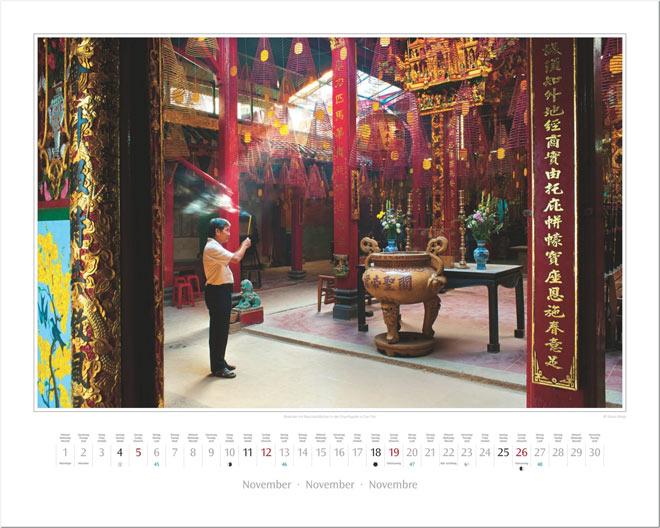 Monat November vom Wandkalender 2017 VIETNAM | Foto: Mario Weigt