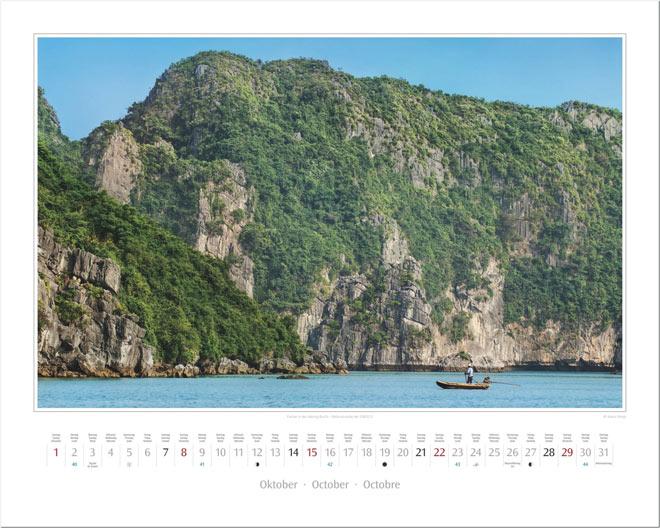 Monat Oktober vom Wandkalender 2017 VIETNAM | Foto: Mario Weigt