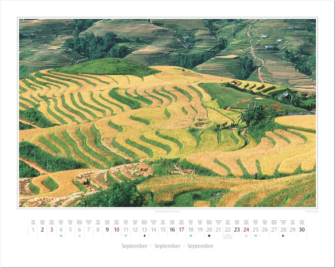 Monat September vom Wandkalender 2017 VIETNAM | Foto: Mario Weigt