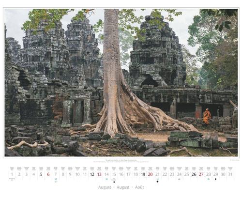 Monatsblatt August vom Wandkalender 2017 Südostasien | Foto: Mario Weigt