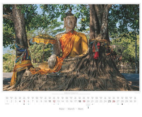Monatsblatt März vom Wandkalender 2017 Südostasien | Foto: Mario Weigt