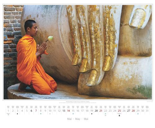 Monatsblatt Mai vom Titelbild vom Wandkalender 2017 Südostasien | Foto: Mario Weigt