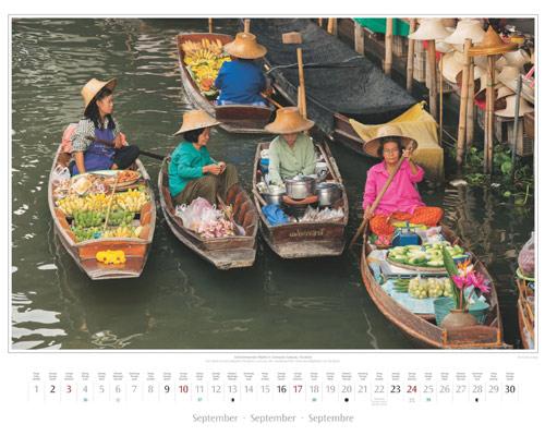 Kalenderblatt September vom Wandkalender 2017 Südostasien | Foto: Mario Weigt