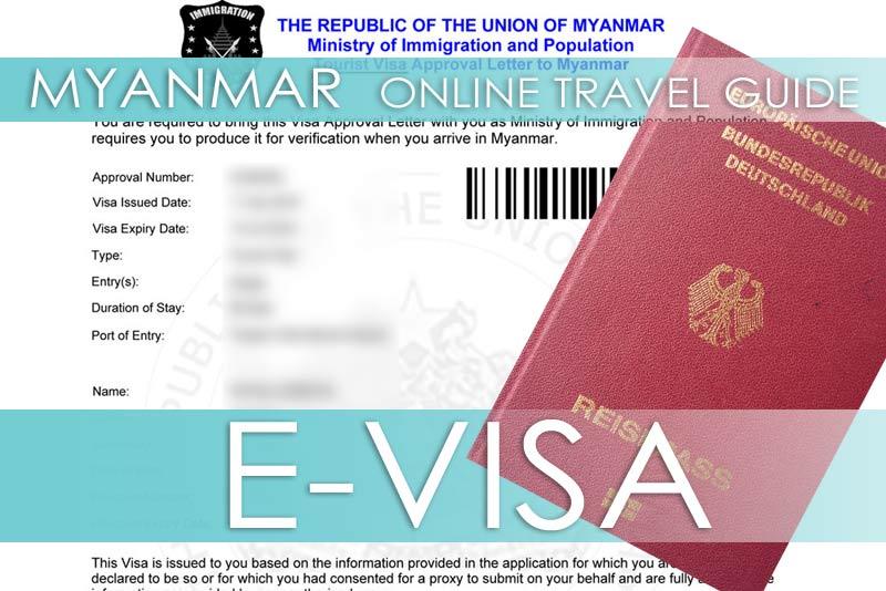Tipps für die Beantragung vom e-Visa für Myanmar