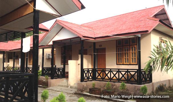Bungalow im Mrauk U Palace Resort