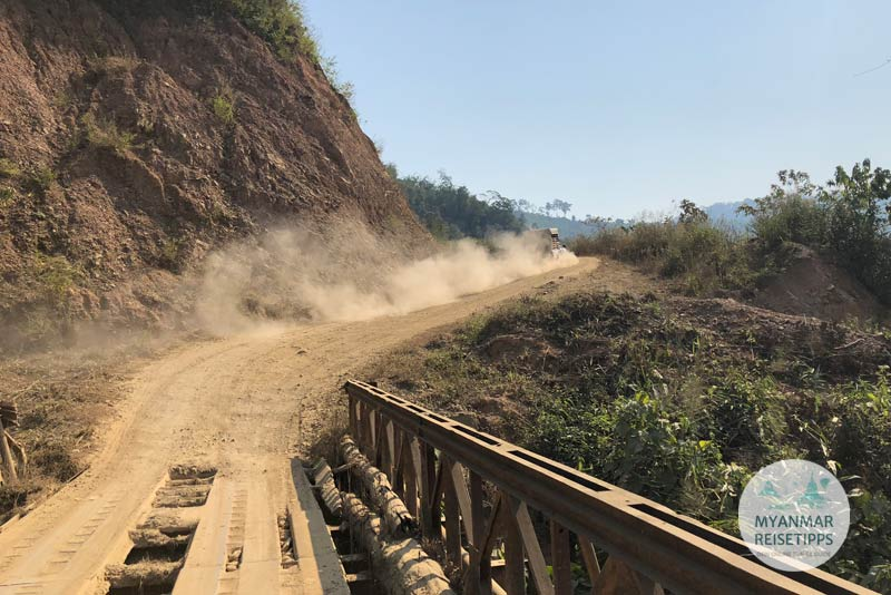 Myanmar Reisetipps | Ausreise auf dem Landweg | Dawei - Htee Khee - Phu Nam Ron - Kanchanaburi