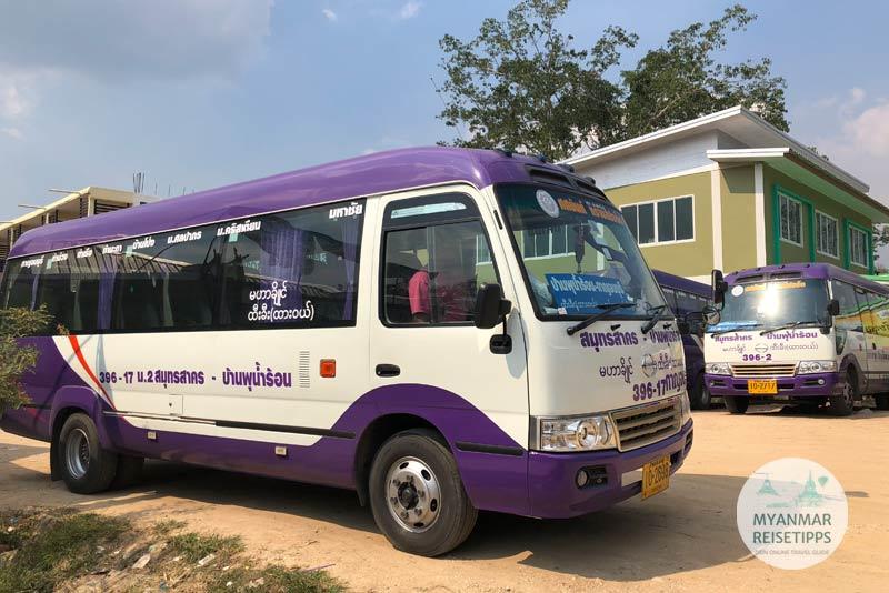 Tipps Myanmar | Ausreise Landweg Htee Khee
