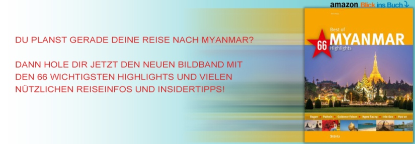 Bildband mit Reisetipps: Best of MYANMAR - 66 Highlights