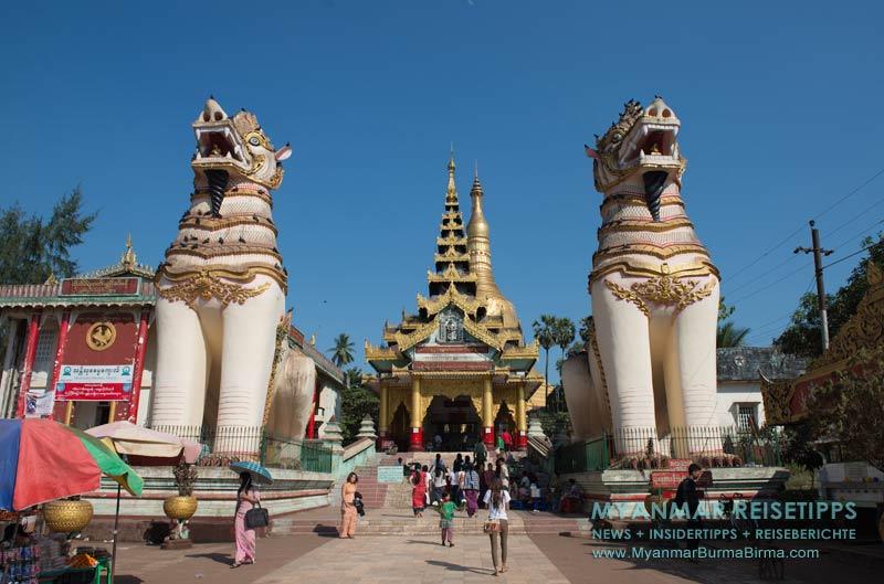 Myanmar Reisetipps | Bago | Shwemawdaw-Pagode