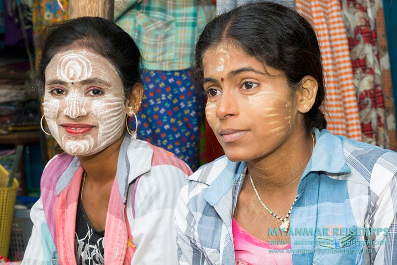 Myanmar Reisetipps | Thanaka