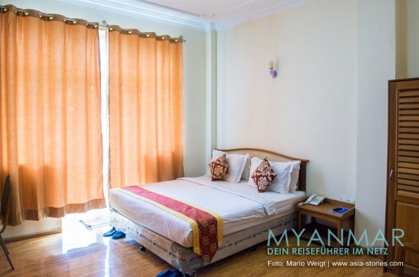 Reisetipp für Myanmar - Diamond Crown Hotel in Dawei
