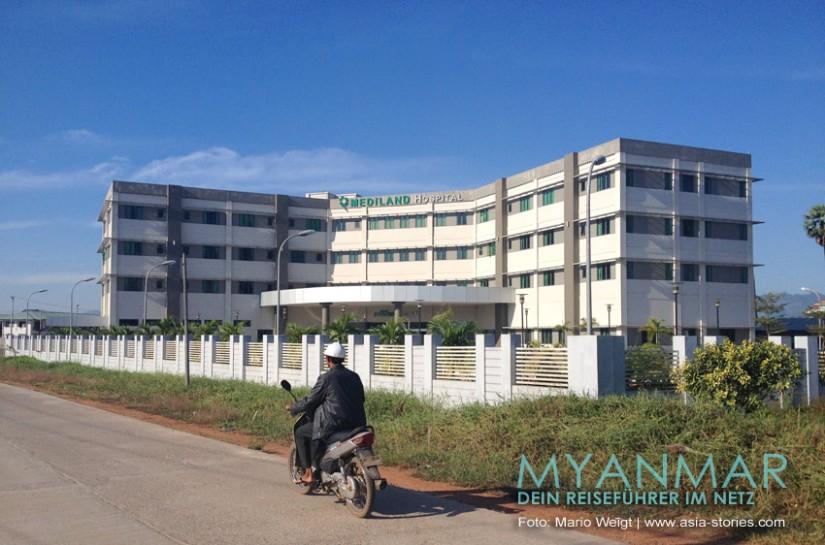 Reisetipp für Myanmar - Krankenhaus in Dawei