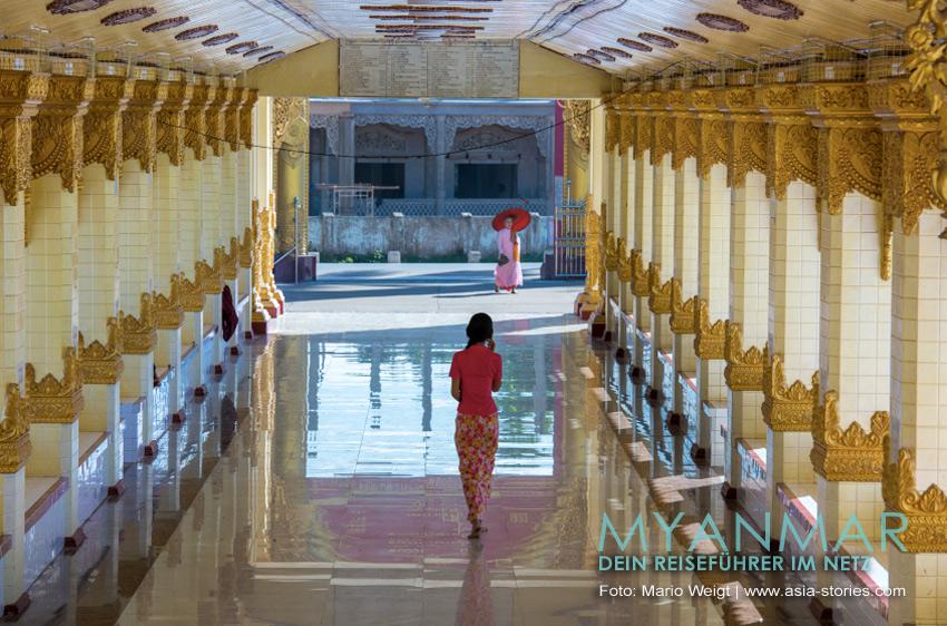 Reisetipps Myanmar - Dawei und die Strände | Pagode Shwe Taung Sar in Dawei
