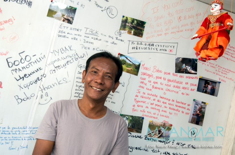 Reisetipps Myanmar - Dawei und die Strände | Guide und Reiseführer Bo Bo Nyan Win in Dawei