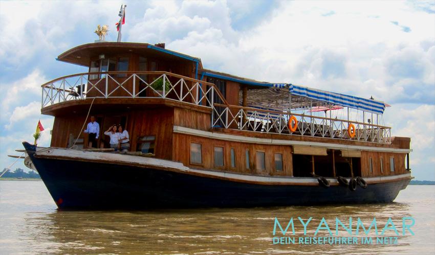 Myanmar Reisetipps | Flussfahrten auf dem Ayeyarwady mit der M.S. Hintha