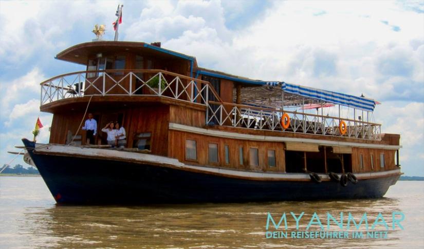 Reisetipps Myanmar - Flussfahrten 2017 und 2018 auf dem Ayeyarwady mit der M. S. Hintha