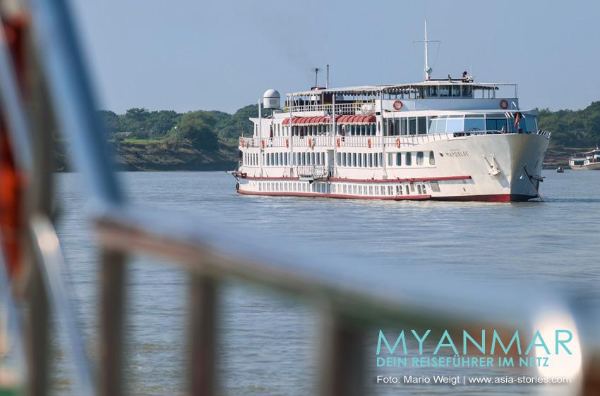 Myanmar Reisetipps | Flussfahrten auf dem Ayeyarwady mit der Road to Mandalay