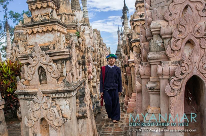 Myanmar Reisetipps - Unser Guide von den Pa-O in Kakku