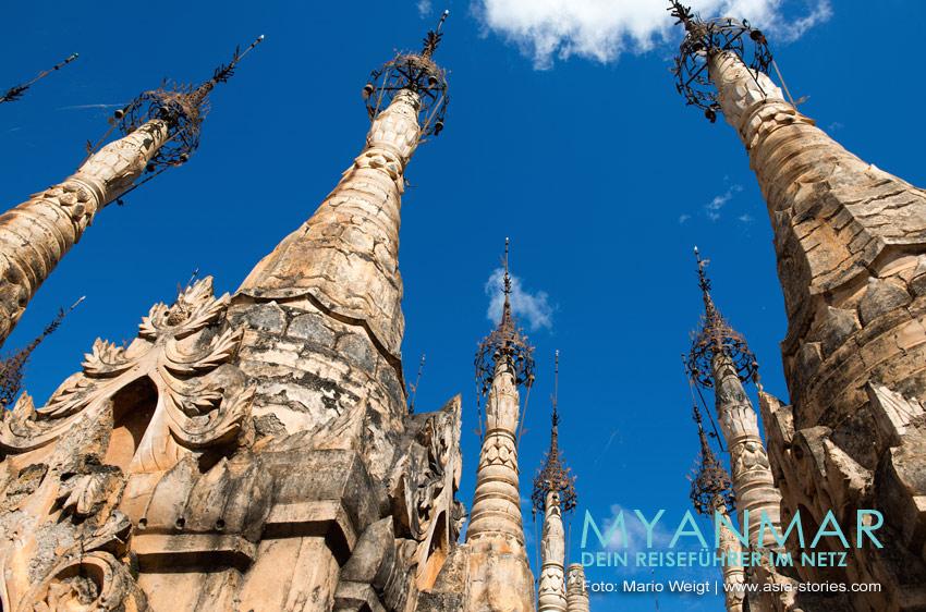 Myanmar Reisetipps | Pagoden in Kakku