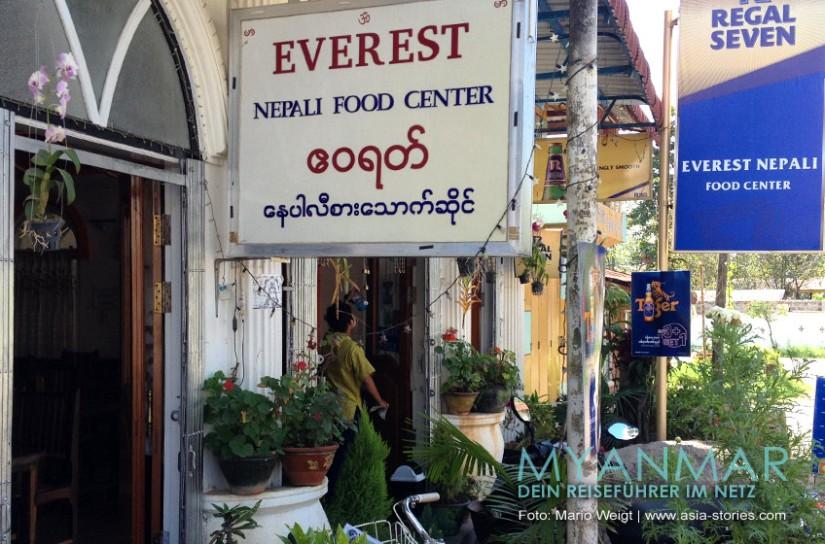 Myanmar Reisetipps - Kalaw | Everest Nepali Food Center