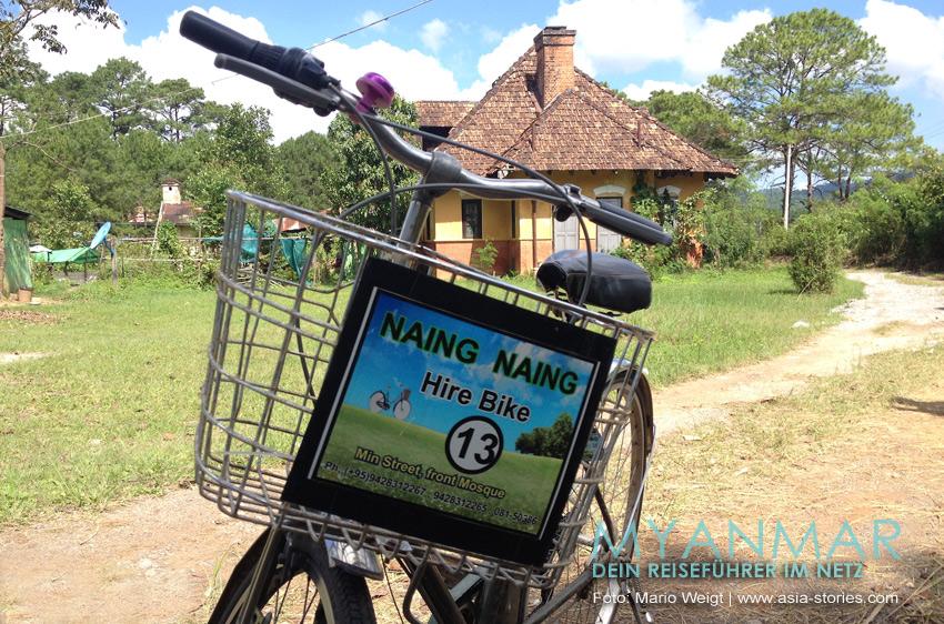 Myanmar Reisetipps - Kalaw | Fahrradvermietung und Trekkinganbieter Naing Naingg
