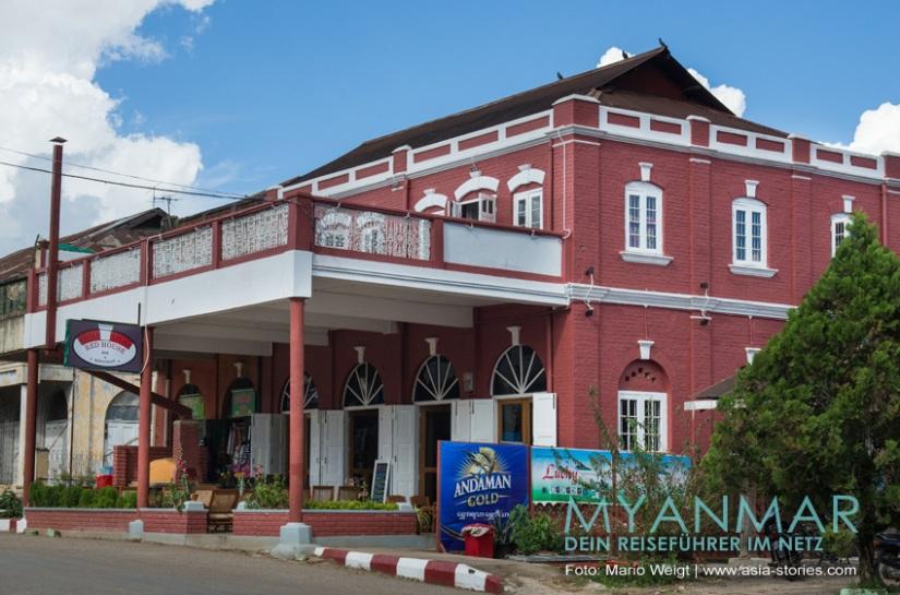 Myanmar Reisetipps - Kalaw | Red House - Bar und Restaurant