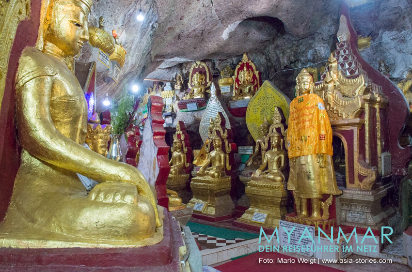Reisetipps Myanmar - Kalaw | Shwe U Min Pagode mit Karsthöhlen
