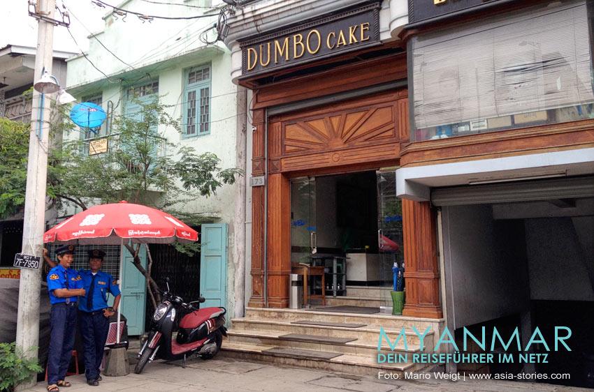 Myanmar Reisetipps - Mandalay | Cafe und Bäckerei Dumbo Cake