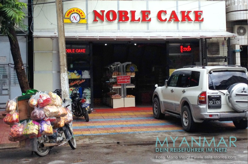Reisetipps Myanmar - Mandalay   Bäckerei und Cafe Noble Cake