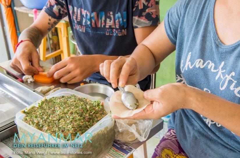 Myanmar Reisetipps - Mandalay | Dumplings und Nudelsuppen im The Pyay