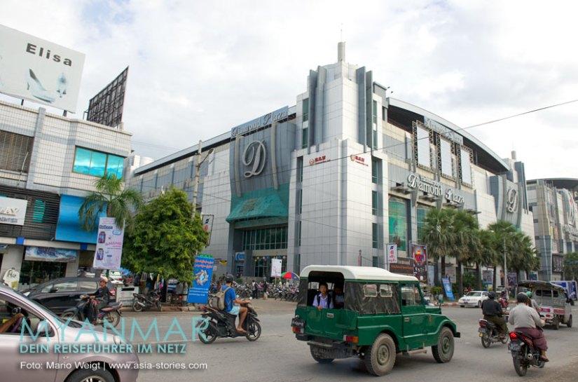 Myanmar Reisetipps - Mandalay | Yadanarbon Diamond Plaza