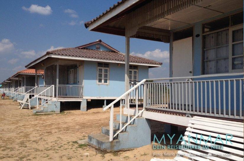 Myanmar Reisetipps - Dawei Peninsula | Maungmagan Beach | Bungalows vom DDPC Resort