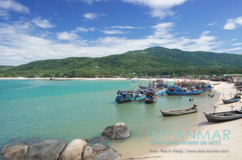 Myanmar Reisetipps - Strände auf Dawei Peninsula | Boa Say Beach
