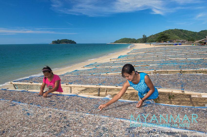 Myanmar Reisetipps - Dawei Peninsula | Fischerdorf und Strand Shan Maw