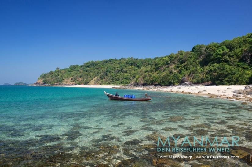 Myanmar Reisetipps - Dawei Peninsula | Fischerdorf Paw La Mor und Tizit Beach
