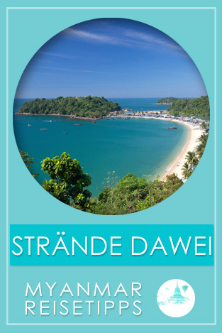 Myanmar Reisetipps | Strände auf Dawei