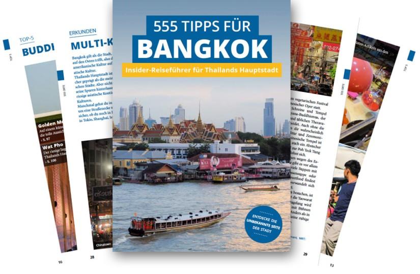 Reiseführer 555 Tipps für Bangkok - Autoren Stefan Diener und Florian Blümm