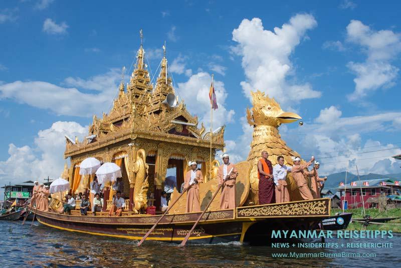 Myanmar Reisetipps | Paung Daw U Festival 2018