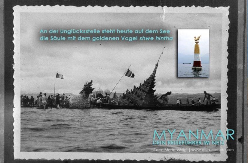 Myanmar Reisetipps - Phaung Daw U Festival auf dem Inle-See