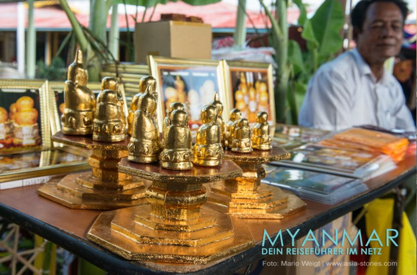Myanmar Reisetipps   Inle-See   Phaung Daw U Festival