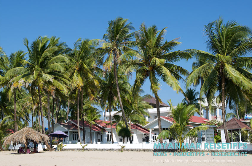 Myanmar Reisetipps | Chaungtha Beach | Hotel ACE