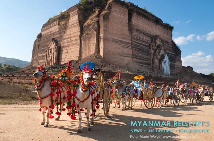 Myanmar Reisetipps | Umgebung von Mandalay | Mingun